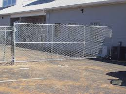 chain link fence driveway gate. Simple Gate Chain Link Fence Driveway Gate Elegant Security Beautiful How To  Make The Throughout G