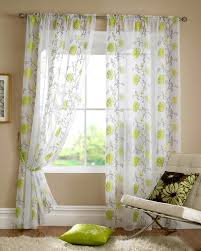lombok rod pocket voile lime green curtain voile uk delivery