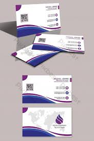 Simple Professional Business Card Template Psd Free
