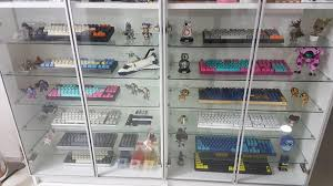 glass display cabinets with lights luxury in case of emergency break glass mechanicalkeyboards