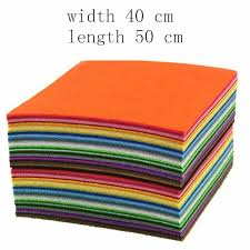 1 <b>Pcs 2</b> Mm Thickness Square <b>Wool</b> Felt Fabric DIY <b>Manual</b> Felt ...