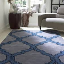 Modern Area Rugs For Living Room Living Room Shag Area Rugs With Blue Carpet And Grey Modern Sofa