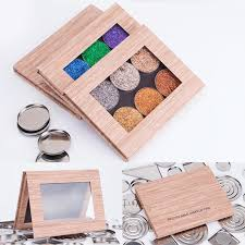 dels about diy empty magnetic palette holder empty box for eyeshadow blush powder makeup