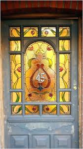 front doors with stained glass luxury glass decals front door stained glass decals design panels