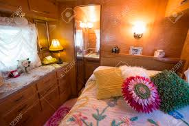 Interior View Of Bedroom Of 1962 Kencraft, A Vintage Trailer At Vintage  Trailers And Campers