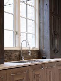 kitchen sink window contemporary kitchen