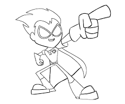 Small Picture teen titans go robin coloring pages Google Search Teen Titans