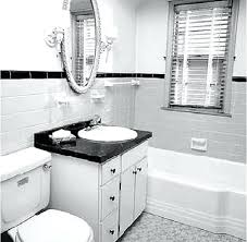 traditional black bathroom. Bathroom Traditional Black And White Stunning Decoration Tile Small A Modern Meets