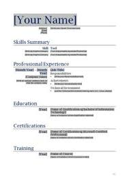 Resume Free Template Blank Resume Template For High School Students - http://www ...