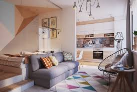 500 Sq Ft Flat Interior Design Living Small With Style 2 Beautiful Small Apartment Plans