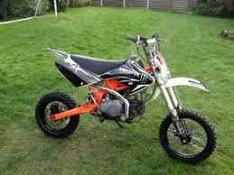 stomp 140 crf size pit bike now finished and for sale on ebay as
