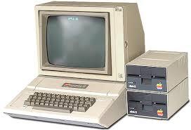 apple 2gs. apple ii computer system 2gs k
