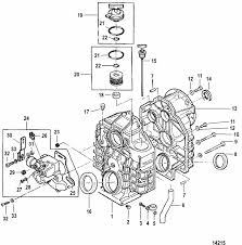 mercruiser 454 mag mpi horizon gen vi gm 454 v 8 transmission engine section