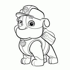 Kleurplaat Paw Patrol Masker Kleurplaat Vor Kinderen 2019