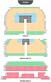 Grandel Theatre Seating Chart Adelphi Theatre Seating Plan Watch Waitress On West End