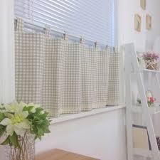 Red Plaid Kitchen Curtains Checked Kitchen Curtains Cliff Kitchen