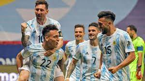 Argentina vs. Colombia - Football Match ...