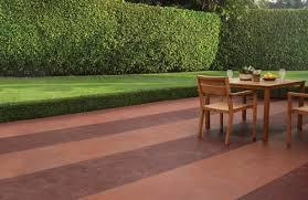 patio paint ideasCustomize concrete patios with color