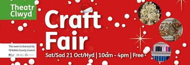 Christmas Craft Fair @ Theatr Clwyd, Mold [21 October]