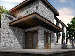 Faux Stone Siding   DRY STACK STONE