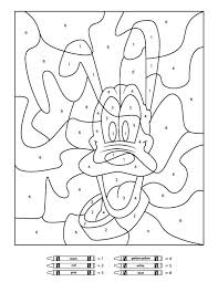 Coloring pages help the individual to put focused in the present moment and that's exactly is meditation. Free Disney Color By Number Printables Disney Coloring Pages Disney Coloring Sheets Free Coloring Pages