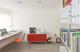 home office renovations. 60s House Renovation + Extension, Home Office With Desk, Shelving And ChildÕs Wooden Bicycle Renovations N