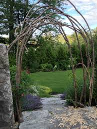 how to build a rustic trellis