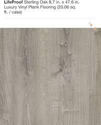 lifeproof sterling oak luxury vinyl plank flooring