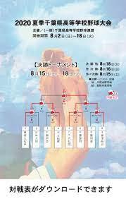 千葉 県 高校 野球 夏季 大会