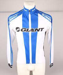 Giant Team Bioracer Jersey Ls White Blue