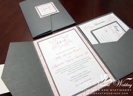 wed_greypink_pocket_blog vintage pink and grey wedding invitation a vibrant wedding on portfolio pocket wedding invitations