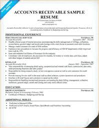 accounts receivables resumes ar resume sample accounts receivable resume accounts payable resume