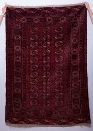 details about antique hand woven turkmen tribal area rug 73 x 49 fine detailed oriental red