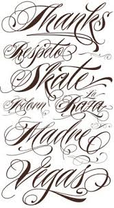 Font Styles For Tattoos 19 Best Cursive Fonts For Tattoos Images Cursive Fonts