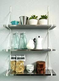 modern design metal open wall shelving custom white hanging shelves wall floating glass made