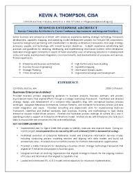 Enterprise Architect Resume Sample Sarahepps Com