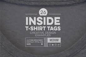 High Range Designs T Shirts 26 Outstanding Inside T Shirt Tag Examples To Inspire Your