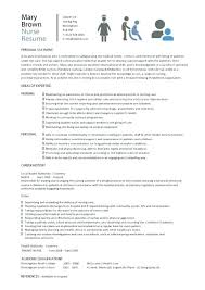 Nurse Manager Resume Extraordinary Resume Template For Nurse Resume Template Nursing Nurse Manager