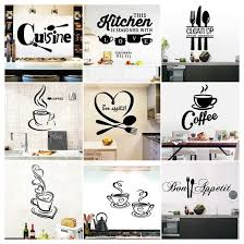 1pc large kitchen wall sticker cuisine