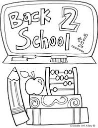 Small Picture Back to School Coloring Pages School colors School and Craft