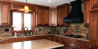kitchen backsplash cherry cabinets black counter. Cherry Cabinets With Granite Modern Concept Kitchen Black Counter Natural . Backsplash Y
