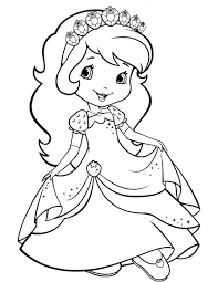 Small Picture strawberry shortcake coloring page fresitas Pinterest