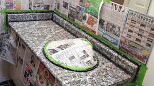 painting countertops with giani paints part 4 of 5 painting granite minerals and veins you