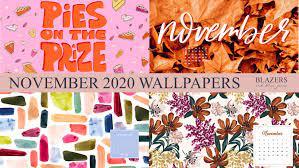 November 2020 Wallpapers