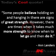 Daily Quotes - Ann Landers - Strength | RazoRSharp Networks via Relatably.com