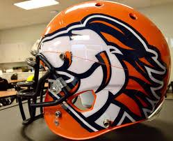 Poston Butte Broncos Az Football Helmetsbroncosnflnfl
