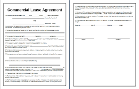 California Commercial Lease Agreement Template