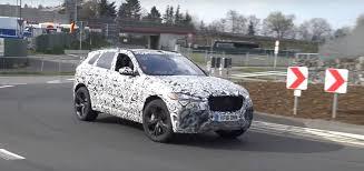 2018 jaguar f pace svr. contemporary pace 2018 jaguar fpace svr testing on nurburgring for jaguar f pace svr v