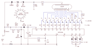 tube in a tube clock figure 25 total circuit diagram of the tube in tube clock click here or on the picture to the circuit diagram in pdf format