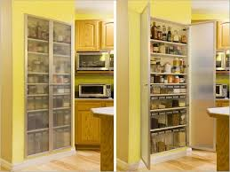 Storage Pantry Cabinet Stunning Tall Multi Storage Pantry Cabinet With Stainless Steel